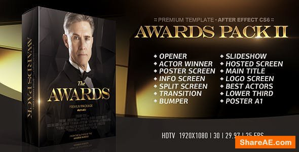 Videohive The Awards Pack II