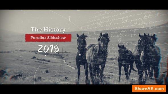Videohive History Parallax Slideshow 21651802