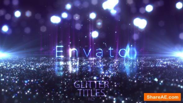 Videohive Glitter Fashion Titles