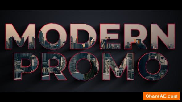 Videohive Modern Typography Promo 24128497
