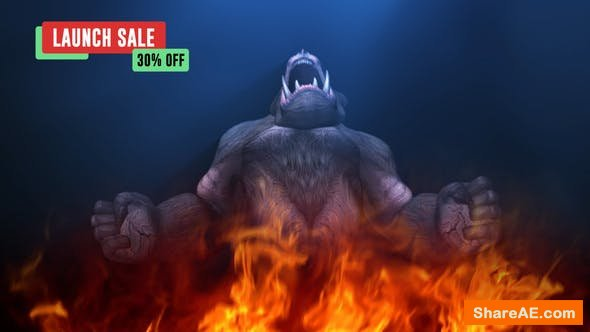 Videohive Primal   Gorilla Reveal