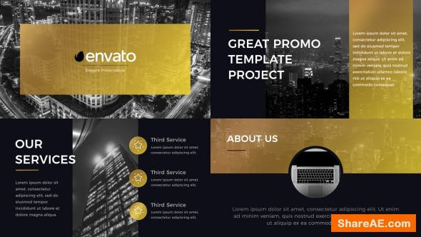 Videohive Gold Presentation
