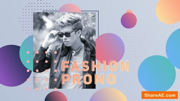 Videohive Gradient Fashion Commercial