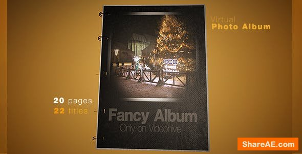 Videohive Virtual Photo Album