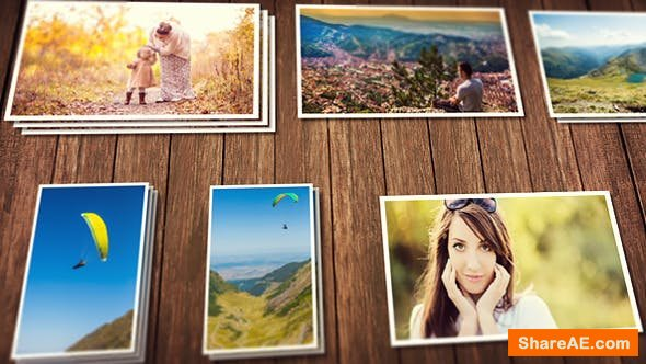 Videohive Vintage Photo Slideshow 6282661