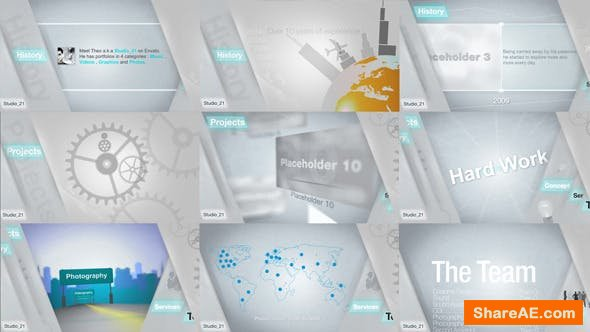 Videohive Corporate Showcase - Video Reel