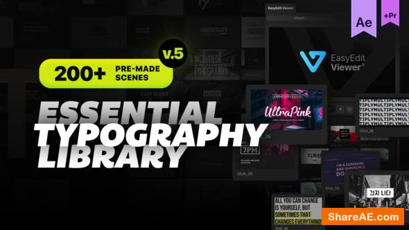 Videohive Essential Titles and Lower Thirds v4.3