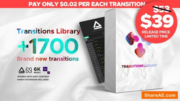 Videohive Seamless Transitions 23955941