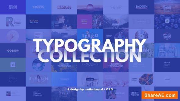 Videohive Typography 21571786