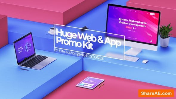 Videohive Huge Web Promo & App Promo Kit