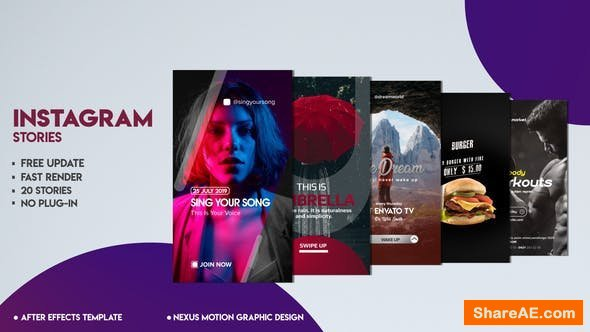 Videohive Instagram Stories 23376757