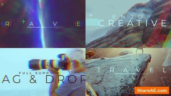 Videohive Rhythmic Travel Opener