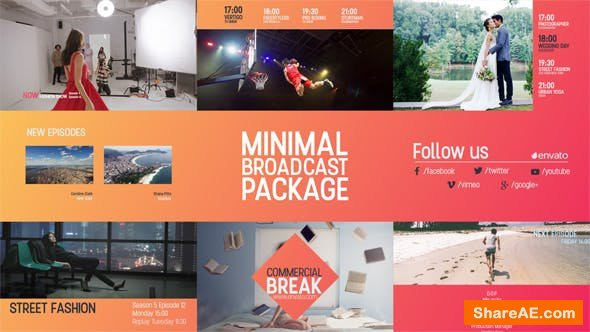 Videohive Minimal Broadcast Package