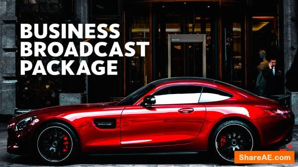 Videohive Business Broadcast Package