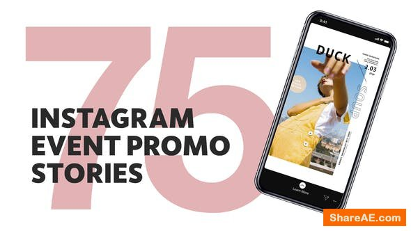 Videohive 75 Insta Event Promo Stories