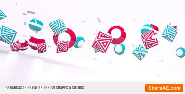 Videohive Broadcast - Network Design Shapes & Colors