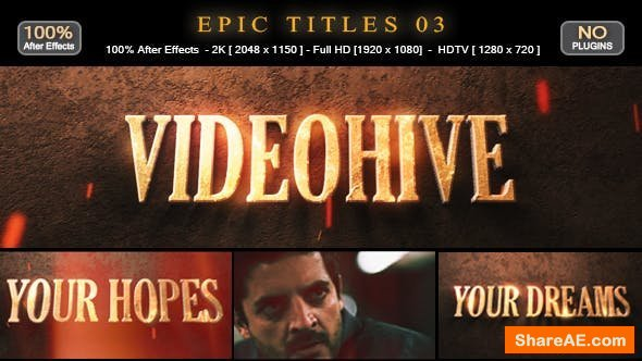 Videohive Epic Titles 03