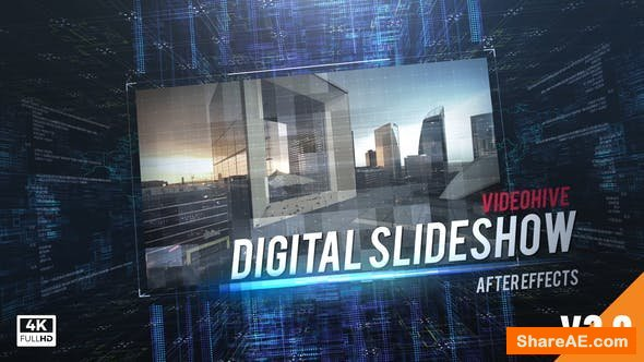 Videohive Digital Slideshow 19501515