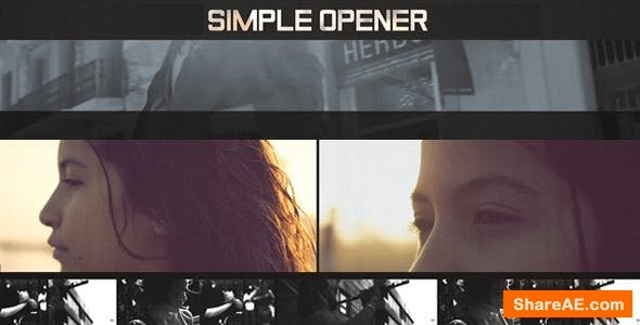 Videohive  Dynamic and Simple Opener