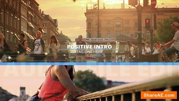 Videohive  Positive Intro