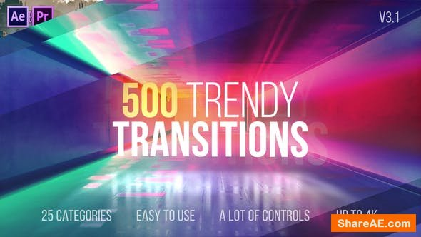 Videohive Transitions v3.1 22114911