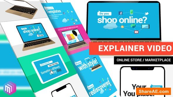 Videohive Explainer Video | Online Store, Marketplace, Services