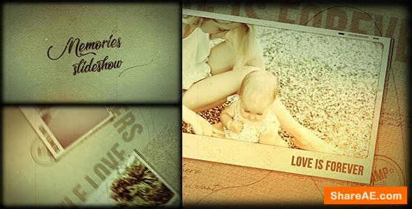 Videohive Memories Slideshow   21491353