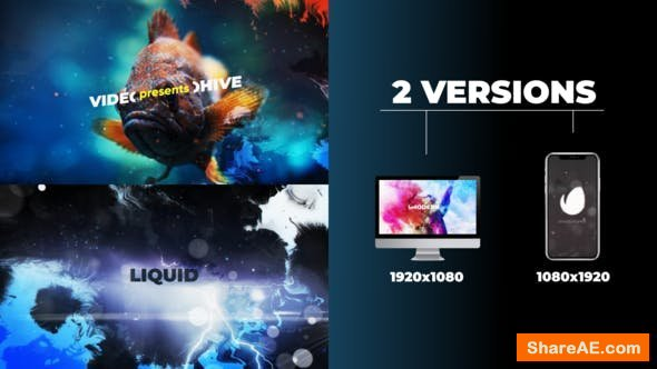 Videohive Liquid Opener 23264503