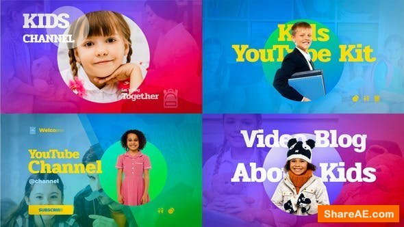 Videohive  Kids YouTube Kit