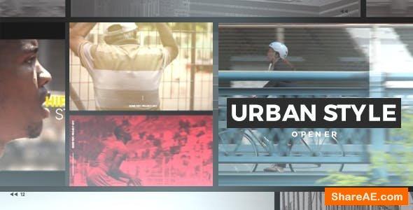 Videohive Urban Style Slideshow