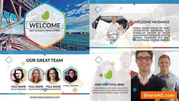 Videohive Business Presentation 19292081