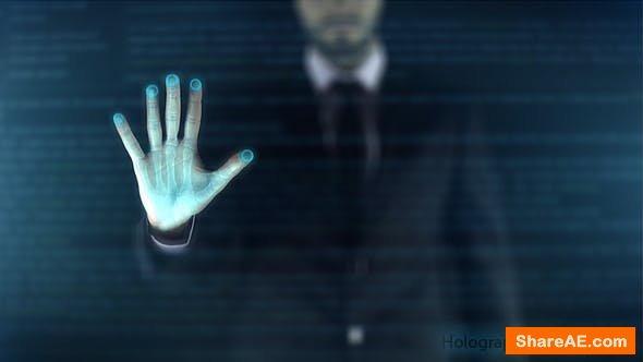 Videohive  Holographic Display - Digital Era