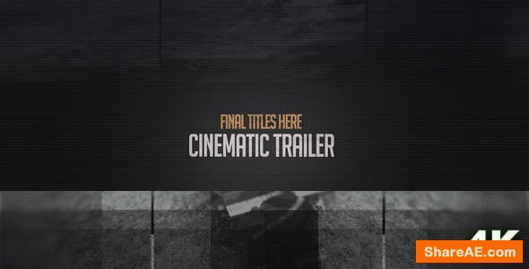 Videohive  Cinematic Trailer in 4K