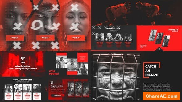 Videohive  Crossfit Gym - Sport Workout Promo