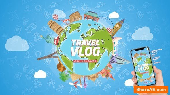 Videohive  Travel Logo Reveal