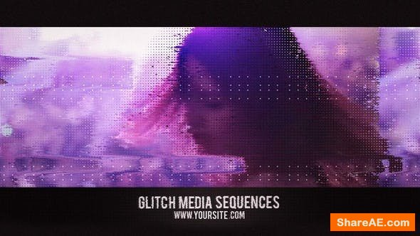 Videohive Glitch Media Sequences