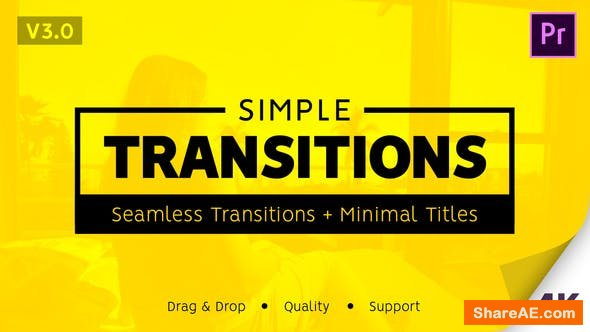 Videohive Simple Transitions v2.1 - Premiere Pro