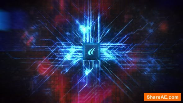 Videohive CPU Technology Logo
