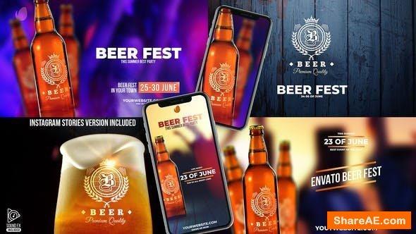 Videohive Beer Fest & Beer Mock-up Pack