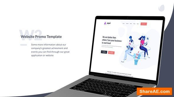Videohive W2 - Website Promo