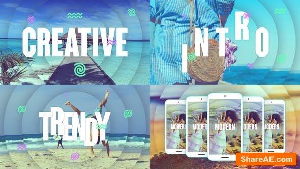 Videohive Creative Intro