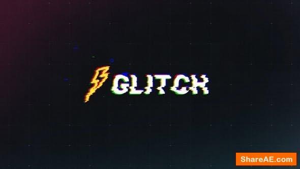 Videohive Glitch Logo 23164217