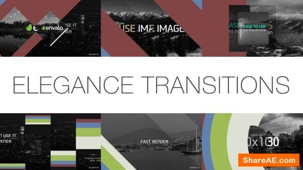 Videohive Elegance of Transitions PACK 30 Items
