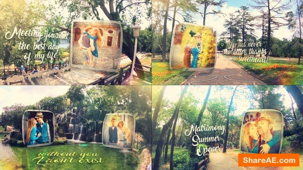 Videohive Matrimony Summer Slideshow