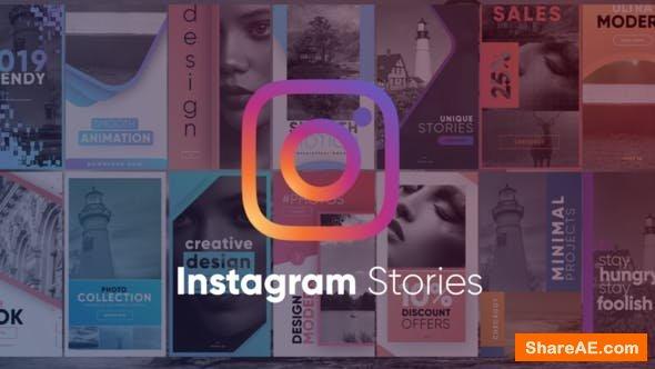 Videohive Trendy Instagram Stories Pack