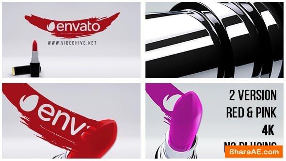 Videohive Lipstick - Stylish Women Logo 14486752
