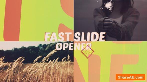 Videohive Fast Slide Opener