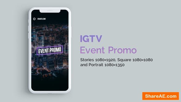 Videohive IGTV - Stylish Event Promo | Vertical and Square