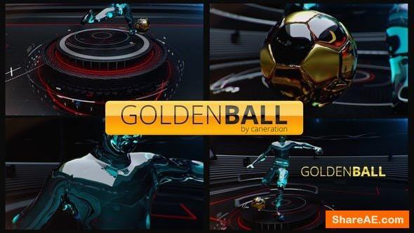 Videohive Golden Ball Football Opener