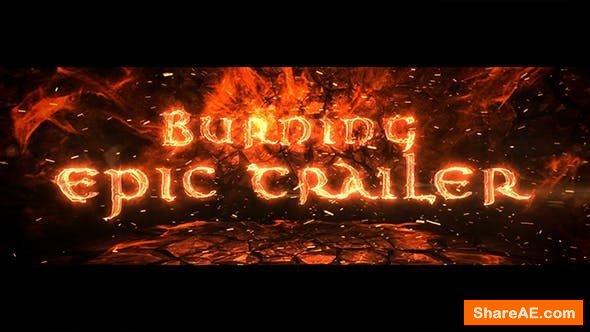 Videohive Burning Epic Trailer